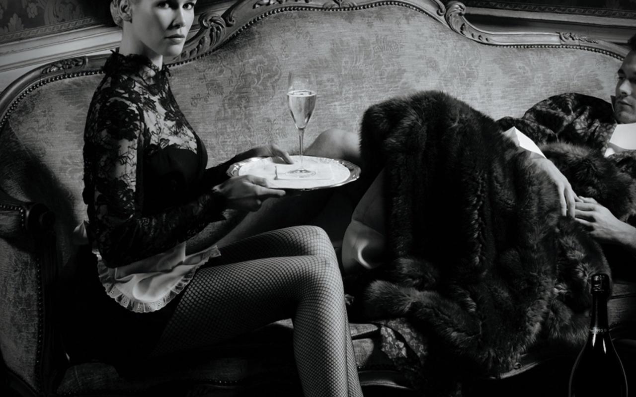 Dom Perignon Claudia Schiffer