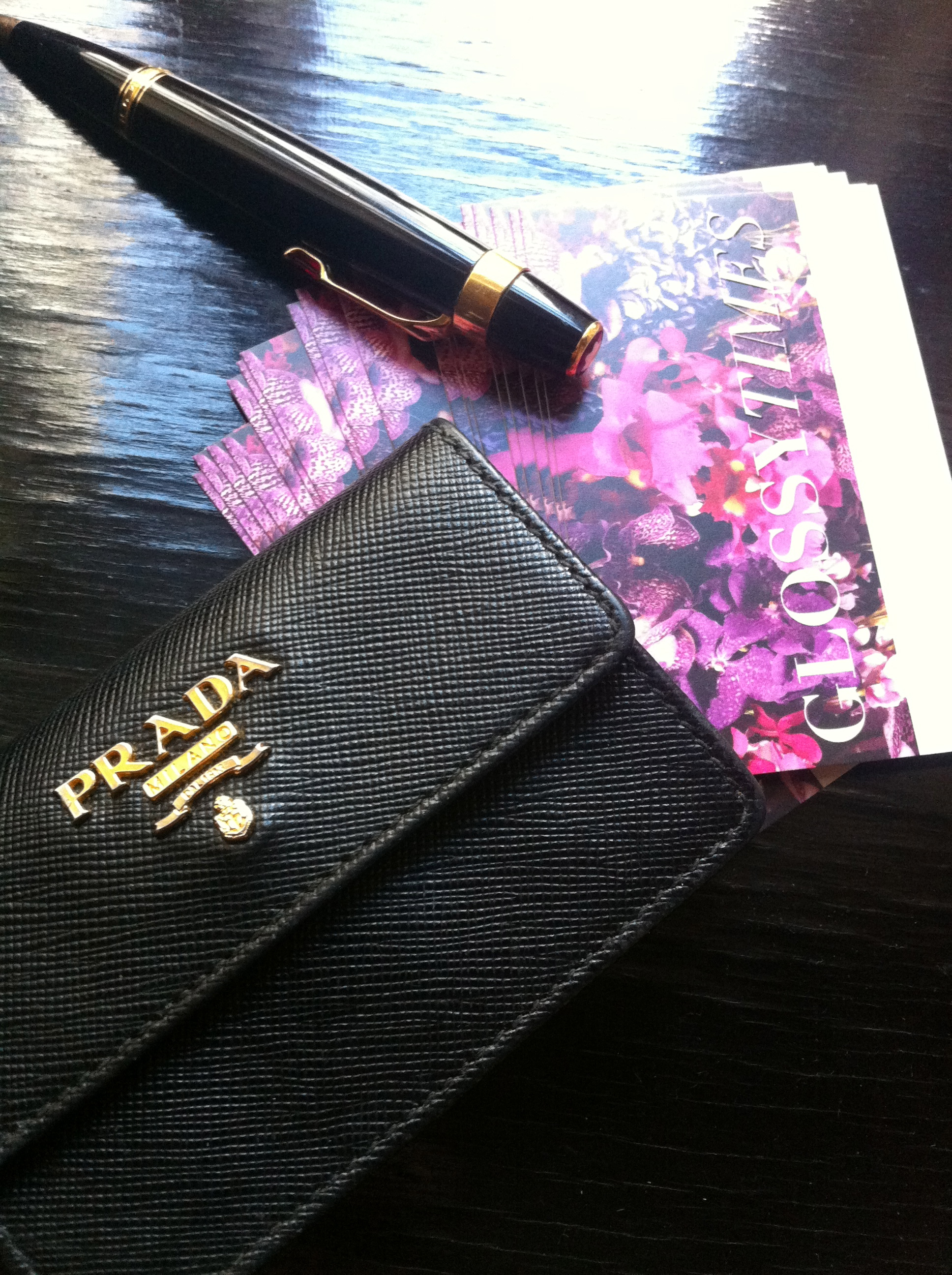 Prada Business Card Case