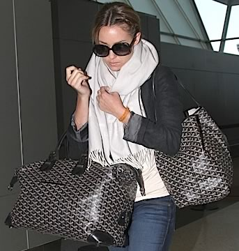 Lauren Conrad Goyard Travel Bags